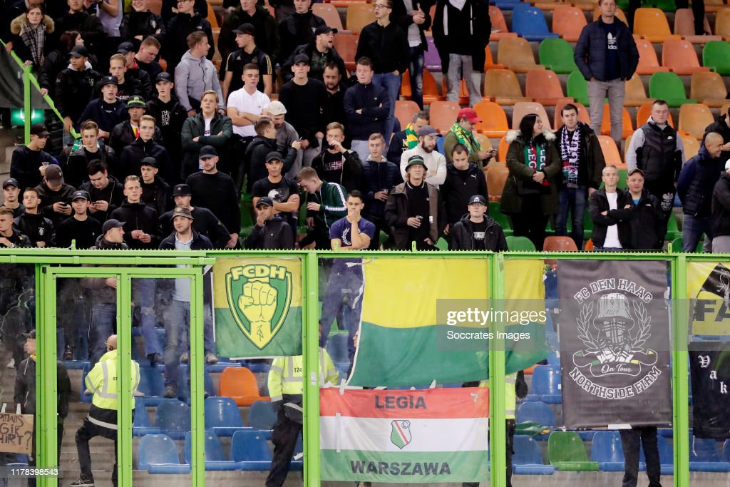 Supporters Of Ado Den Haag During The Dutch Eredivisie Match Between News Photo Getty Images