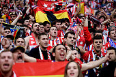 lyon france supporters atletico madrid during