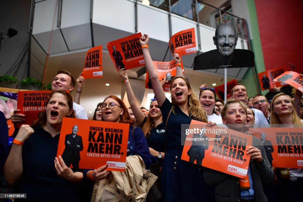 DEU: Bremen Holds Parliamentary Elections