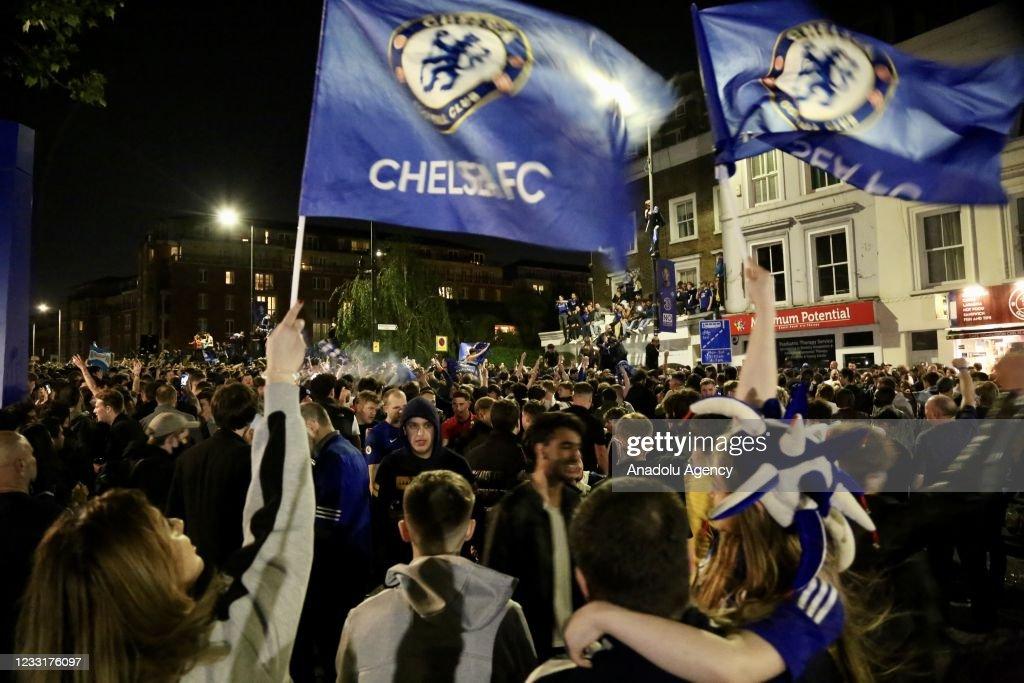 Chelsea win Champions League title : ニュース写真