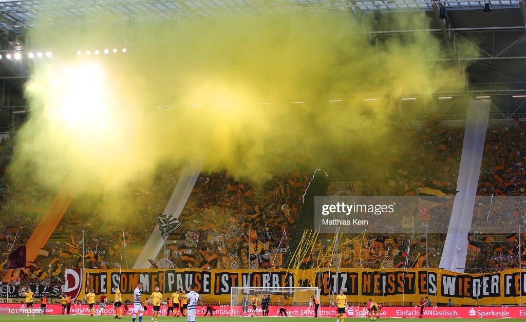 SG Dynamo Dresden v MSV Duisburg - Second Bundesliga : News Photo