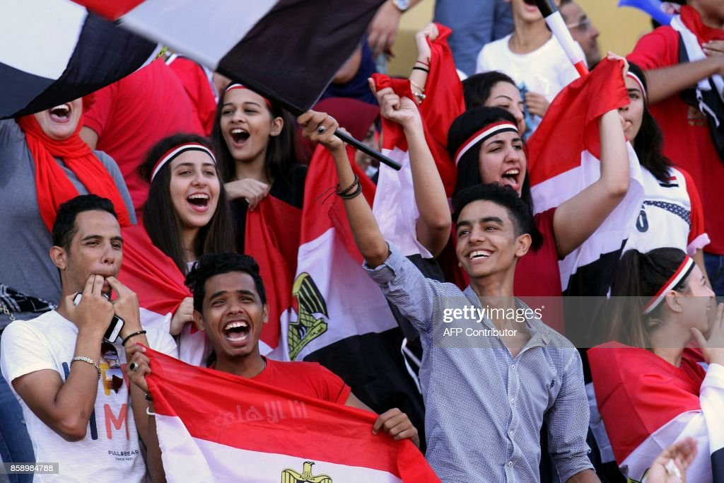 FBL-WC-2018-AFR-EGY-CGO : News Photo