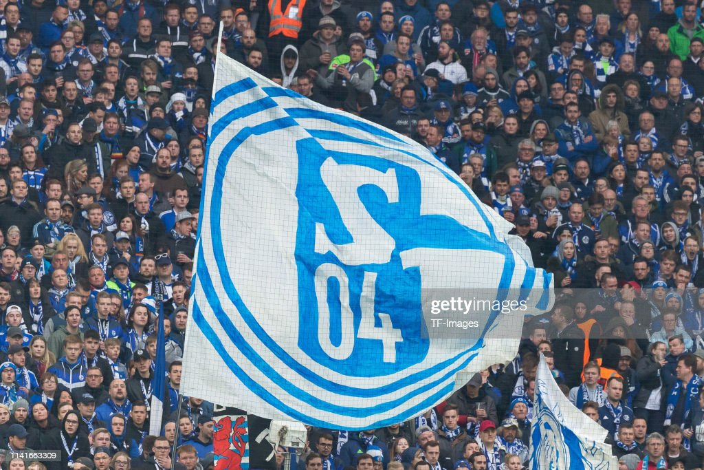 Supporters Of Fc Schalke 04 Are Seen With Flag During The Bundesliga News Photo Getty Images