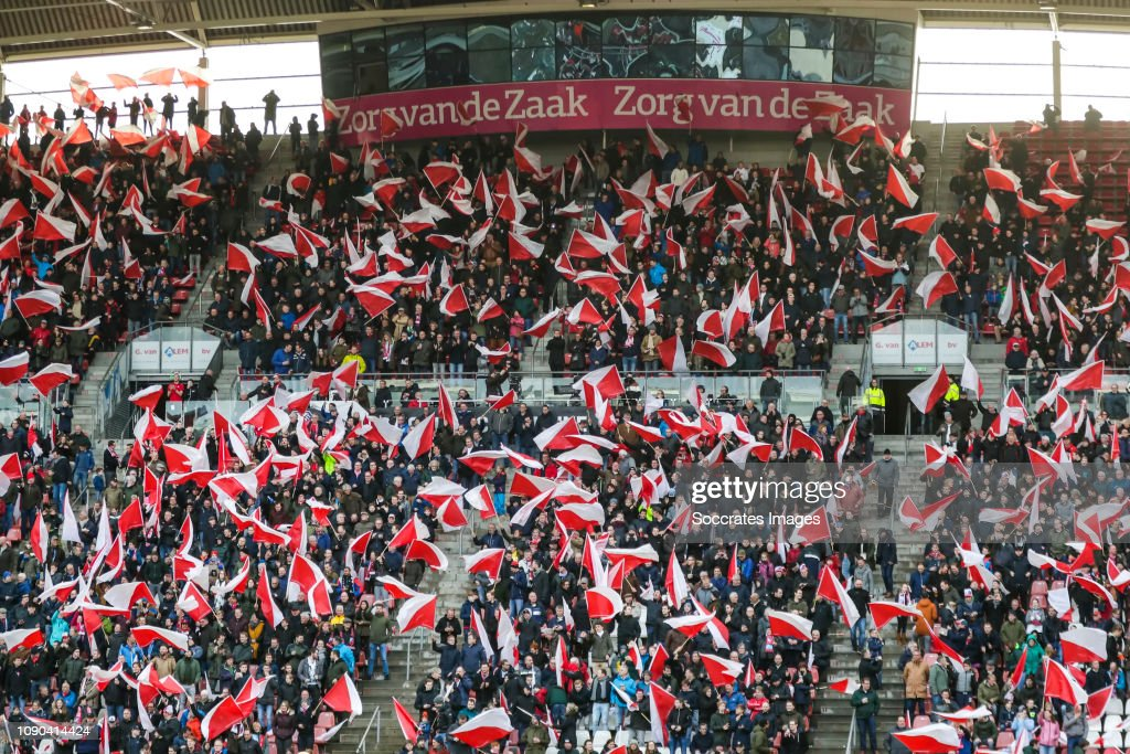 Supporters Of Fc Utrecht With Flags During The Dutch Eredivisie Match News Photo Getty Images