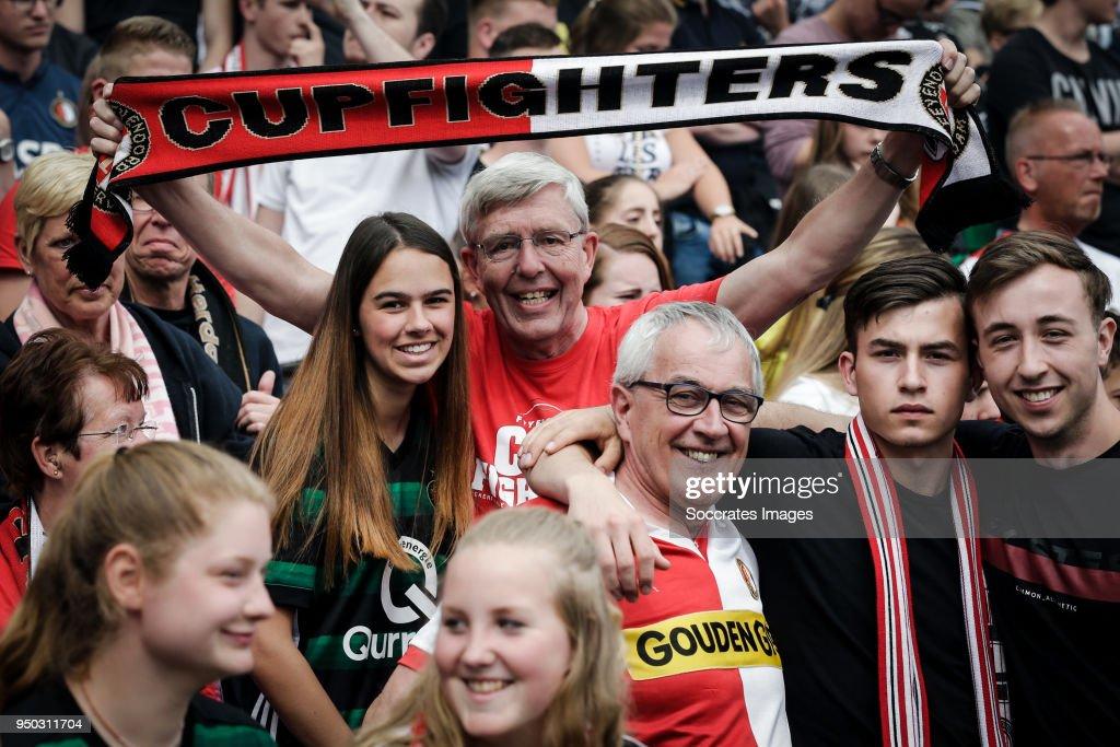 KNVB Cup celebration