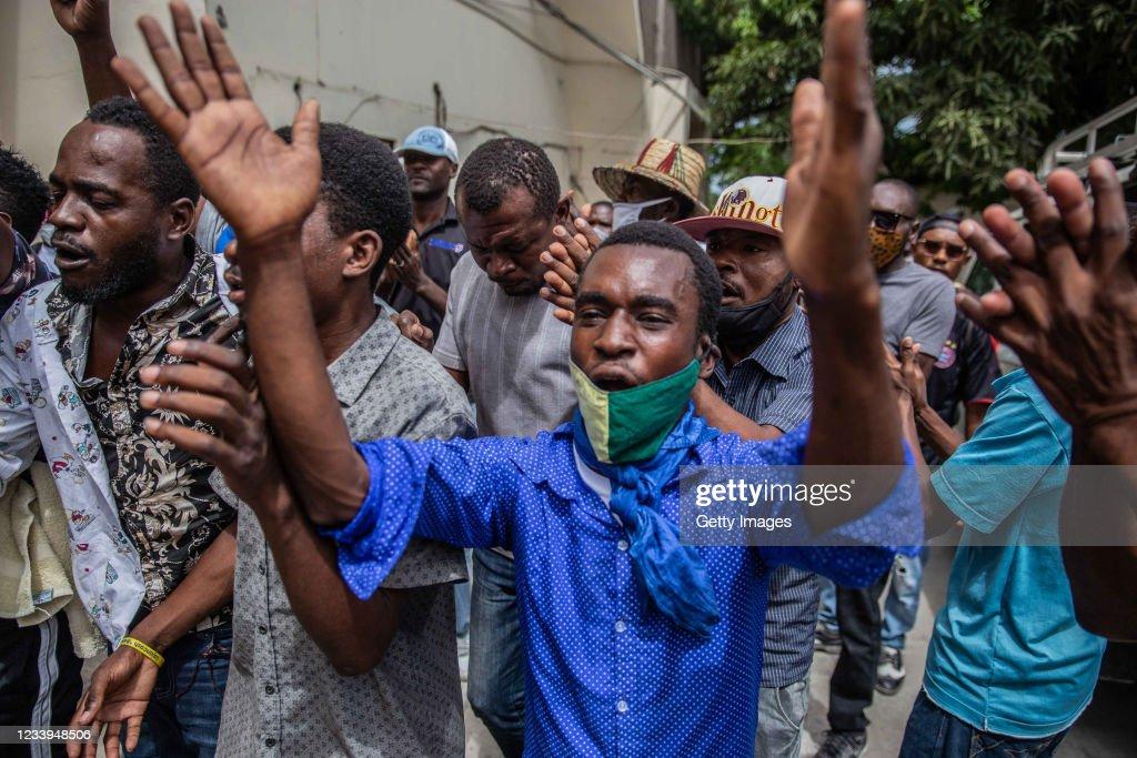 Haitian Senators Are Questioned In The Assassination Of Haitian President Moise : Nieuwsfoto's