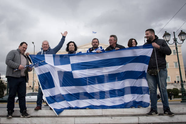 GRC: Protest Against Illegal Migration In Athens