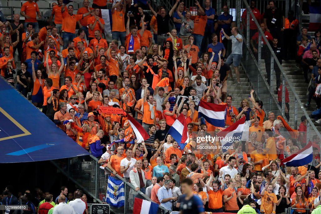 supporters of holland during the uefa nations league match between nieuwsfoto s getty images 2