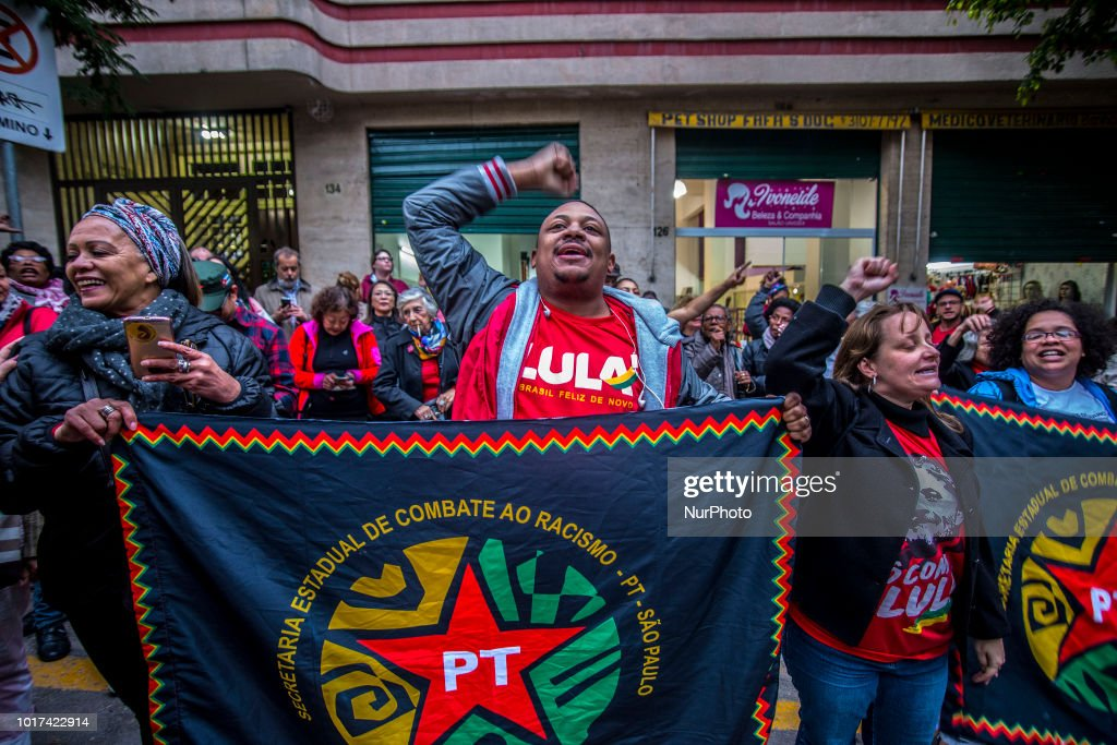 Brazil's Jailed Lula Registered as Presidential Candidate