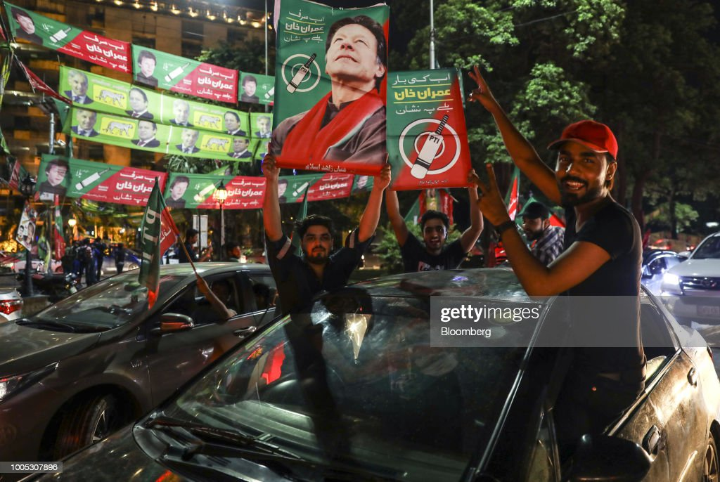 Pakistan Votes to Elect a New Government : News Photo