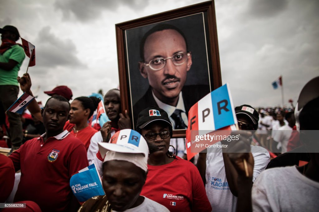 RWANDA-POLITICS-VOTE : News Photo