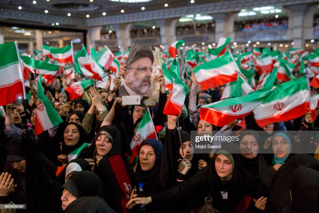 Iranian Presidential Elections : News Photo