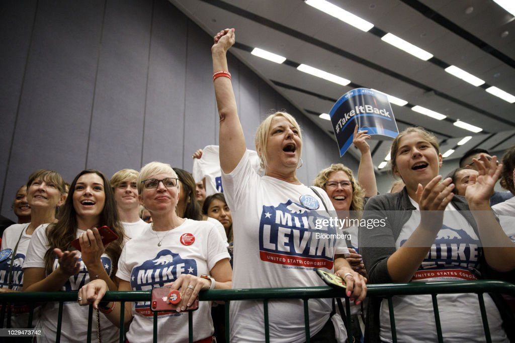 Former President Obama Campaigns For Midterms Alongside California Democrats : News Photo