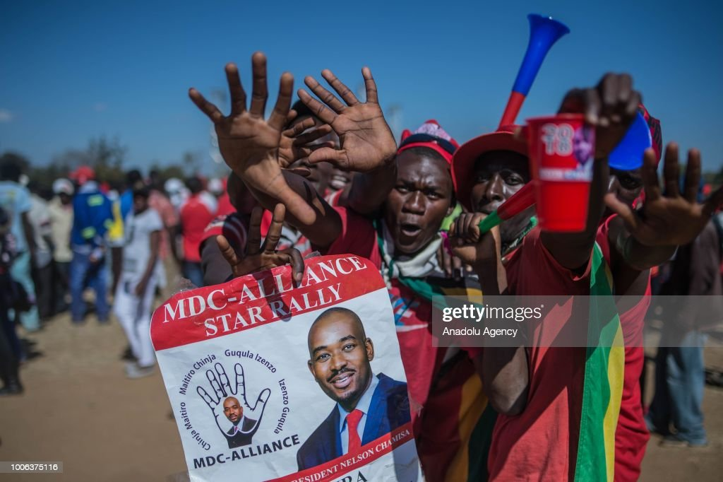 Ahead of the general elections in Zimbabwe : News Photo