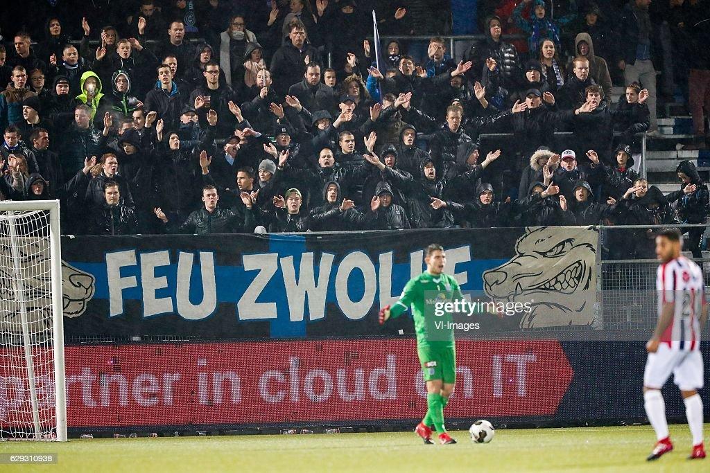 """Dutch Eredivisie""""PEC Zwolle v Willem II"""" : Nachrichtenfoto"""