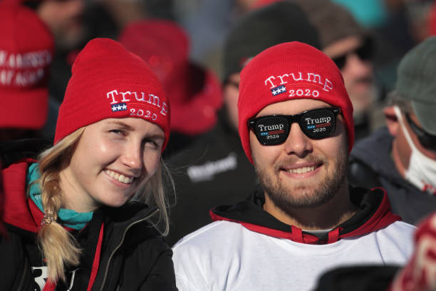WI: President Trump Holds Campaign Rally In West Salem, Wisconsin A Week Before Election