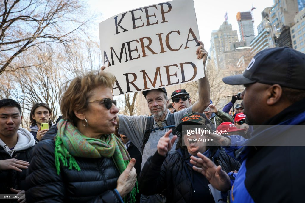 Thousands Join March For Our Lives Events Across US For School Safety From Guns : News Photo