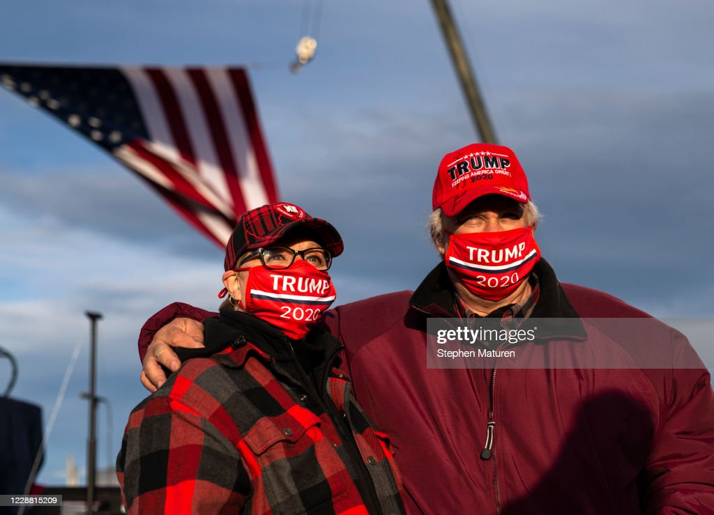 Donald Trump Holds Campaign Event In Duluth, MN : News Photo