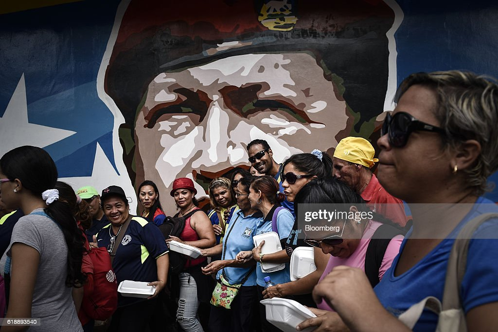 Views of Caracas As Venezuelan Opposition Calls for National Strike, Protests : News Photo
