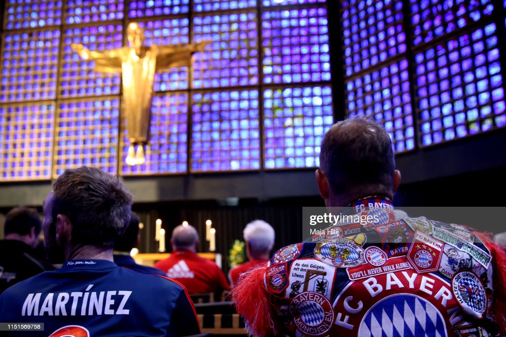 DEU: Ecumencial Church Service - DFB Cup Final 2019