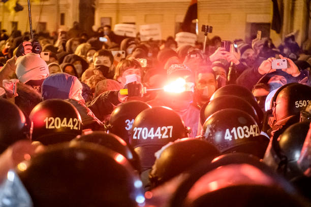 UKR: Rally Near The Presidential Administration In Kyiv