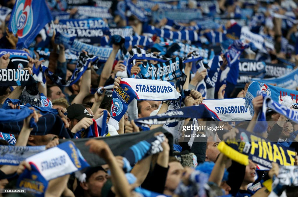 RC Strasbourg v EA Guingamp - Coupe de la Ligue Final : News Photo