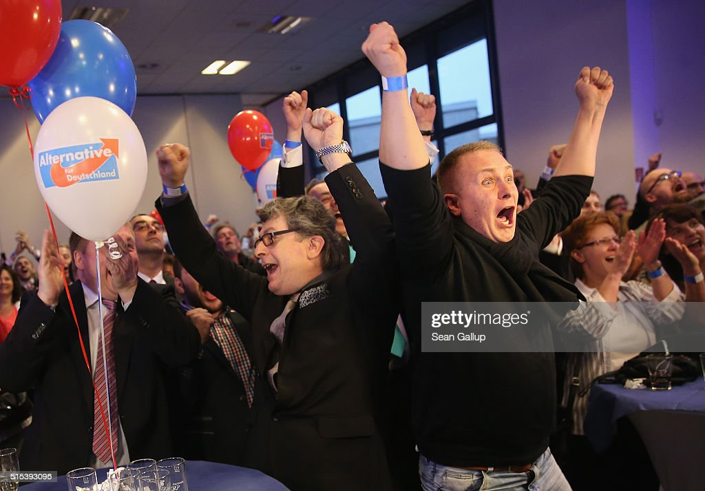 Saxony-Anhalt Holds State Elections : News Photo