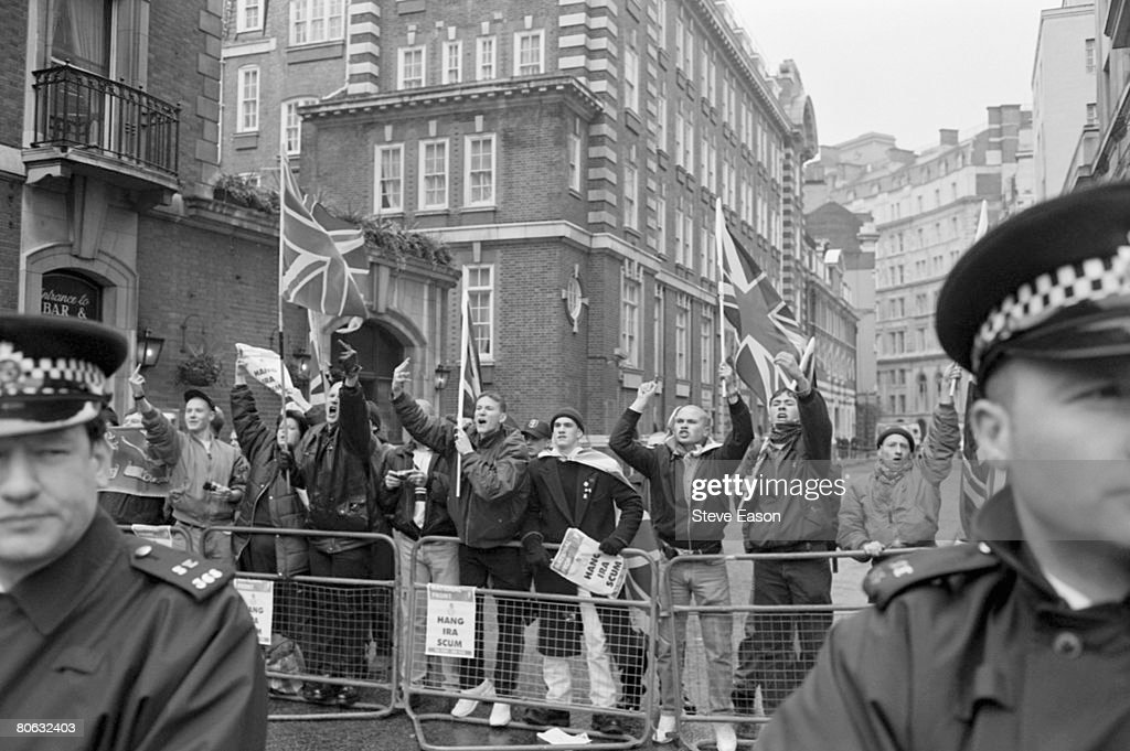National Front Protest : News Photo
