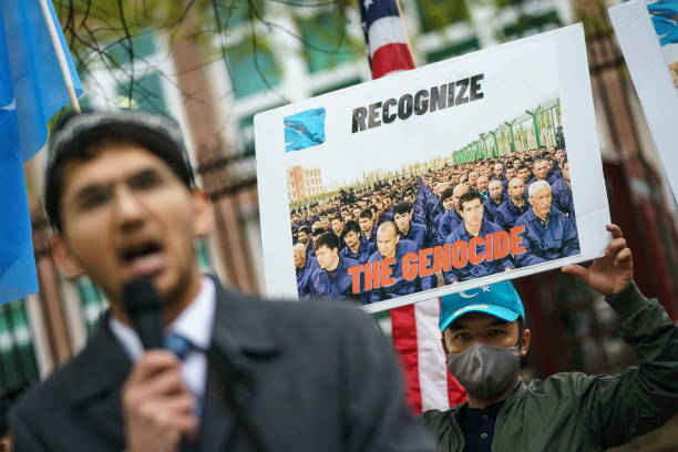 DC: Rally At UK Embassy In DC To Support Of Condemnation Of China For Uyghur Abuses