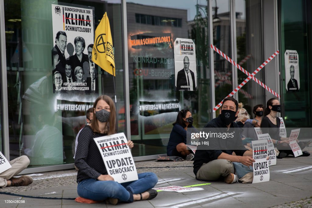 Extinction Rebellion Protests In Berlin : News Photo
