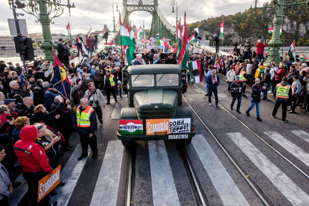 HUN: Hungary's Political Parties Rally On Memorial Day Of The 1956 Revolution