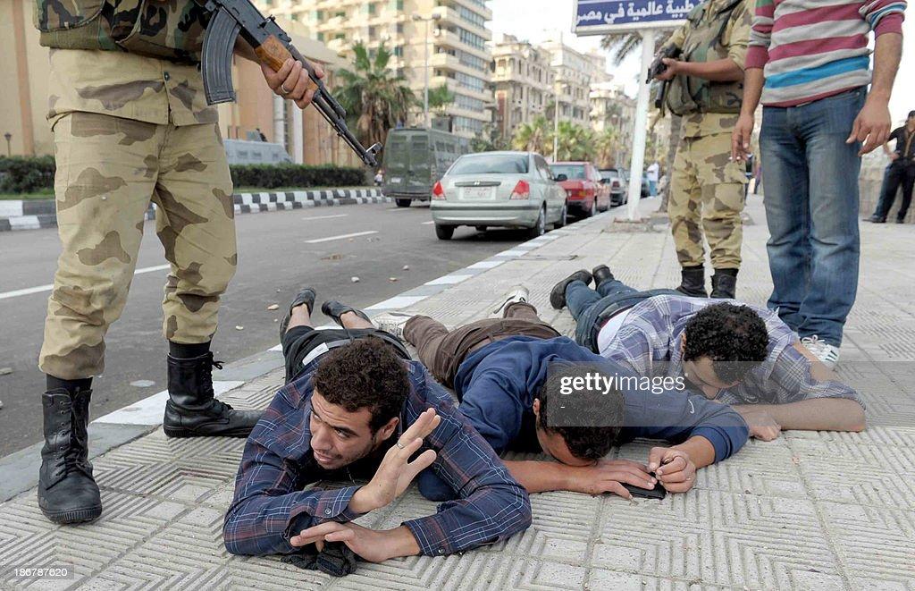 EGYPT-POLITICS-TRIAL-MORSI : ニュース写真
