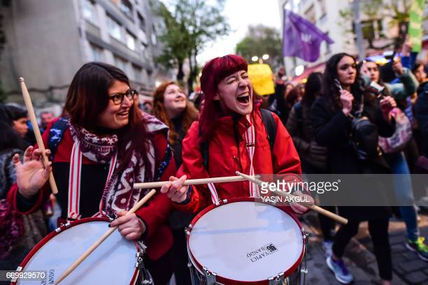"""Supporters of the """"No"""" march to submit their petition to call for the annulment of a referendum that approved sweeping constitutional changes..."""