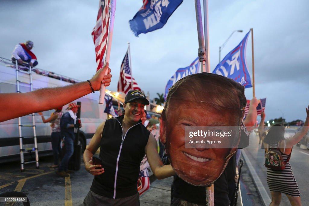Celebration in Florida over Bidenâs win : ニュース写真