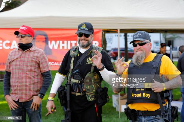 Supporters of the Second Amendment to the United States Constitution gather as they hold their annual march at the Michigan State Capitol in Lansing,...