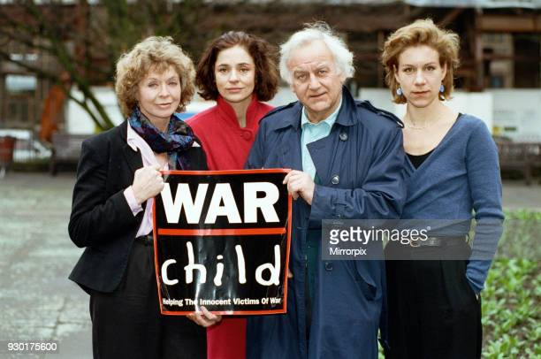 Supporters of the War Child Charity John Shaw and Juliet Stevenson 28th January 1993
