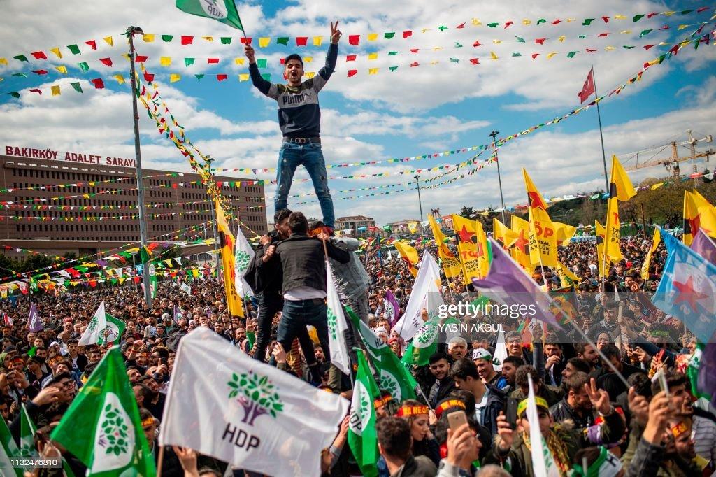 TURKEY-POLITICS-VOTE-PARTY-HDP : News Photo