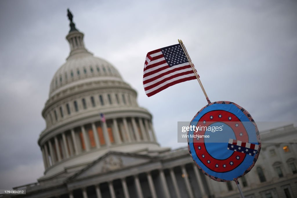 Congress Holds Joint Session To Ratify 2020 Presidential Election : News Photo