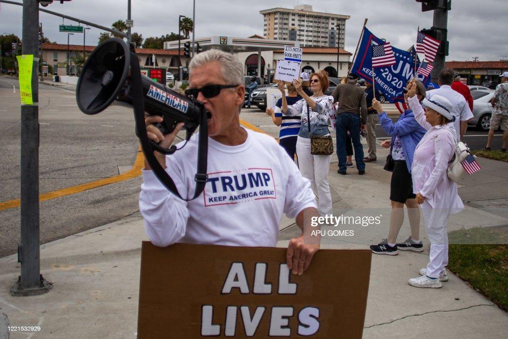 US-POLICE-RALLY : News Photo