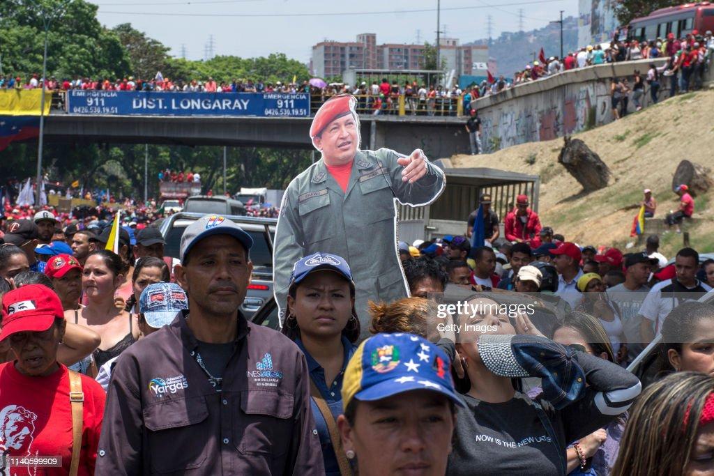 Demonstrations in Caracas : Foto di attualità