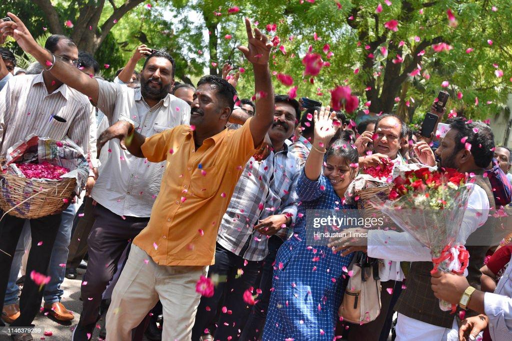 IND: YSR Congress Party Chief Jaganmohan Reddy Visits Andhra Bhawan In Delhi