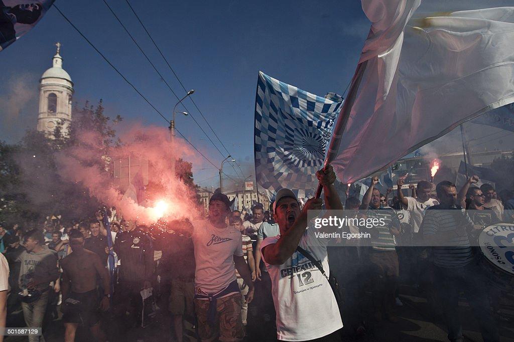 Fans of FC Zenit : News Photo