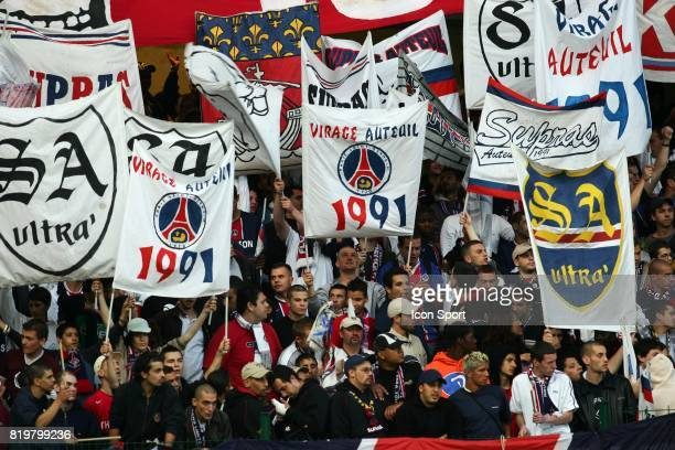 Supporters parisiens Troyes / Paris Saint Germain 4eme Journee de Ligue 1