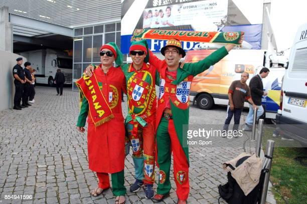 Supporters Portugal Portugal / Malta Qualifications Coupe du Monde 2010 Estßdio D Afonso Henriques Guimarπes