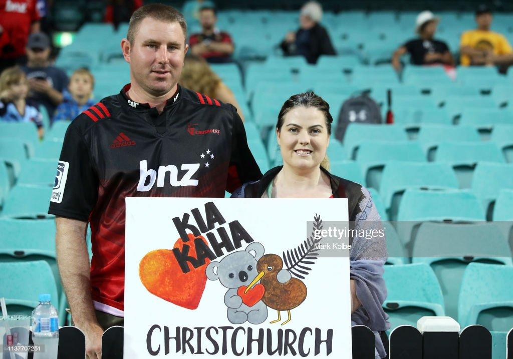 AUS: Super Rugby Rd 6 - Waratahs v Crusaders