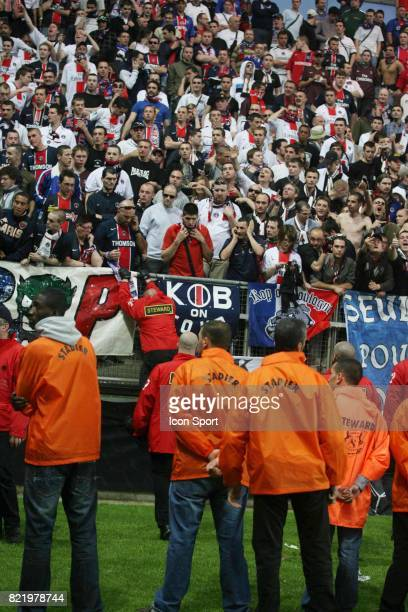 Supporters PSG / Securite Amiens / PSG 1/2 Finale Coupe de France