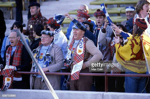 Supporters Scotland during the World Cup match between Scotland and Iran in Estadio Cordoba Cordoba Argentina on 07th June 1978