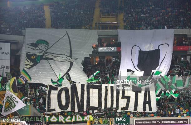 Supporters Sporting Sporting Lisbonne / Benfica Lisbonne Championnat Portugal