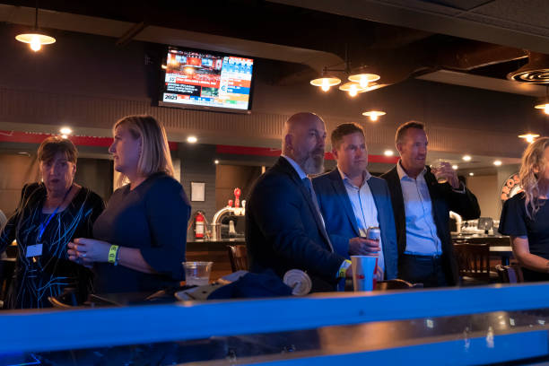 CAN: Canadian Conservative Leader Erin O'Toole Holds Election Night Event In Ontario