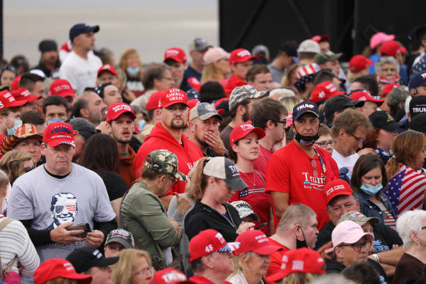 PA: President Trump Holds Campaign Rally In Pennsylvania